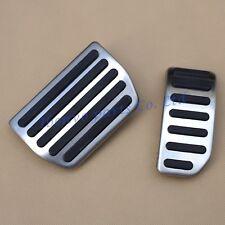Car Gas/Brake Pedal For Volvo S60 XC60 V60 S80 Non-Slip Accessories Aluminum 2PC