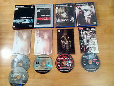 PlayStation 2 ps2 silent hill 3 4 directors cut limited edition  excellent discs