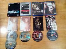 Playstation 2 ps2 Silent Hill 3 4 Directors Cut édition Limitée Excellent Disques