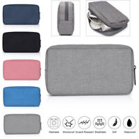 Digital Accessories Travel Storage Bag USB Cable Earphone Organizer Makeup Case