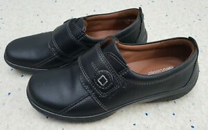 Womens Hotter Shoes Black Leather Shoes,  Size UK 3, EU 36
