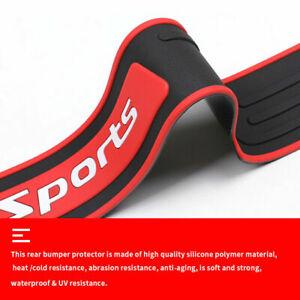 Car Accessories Cover Scuff Plate Rubber Rear Bumper Sill Protector 90*7.2 CM