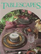 Tablescapes Oxmoor House How to Set a Beautiful Table Paperback 1988
