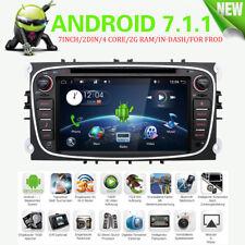 Android 7 Autoradio GPS Navi Sat in Dash DAB Für Ford Mondeo Focus S-max Galaxy