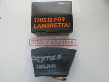 GENUINE BGM LAMBRETTA BUTYL INNER TUBE - BEST QUALITY AVAILABLE 3.50 x 10