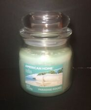 Yankee Candle American Home  12 Oz Jar Candle Paradise Found scent