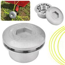 Aluminium Fadenkopf Alu Doppelfadenkopf Fadenspule Mähkopf für Benzin Motorsense