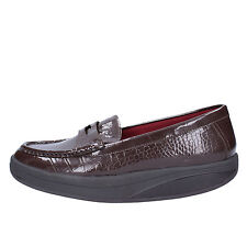 women's shoes MBT 6 / 6,5 (EU 37) loafers brown patent leather AC151-B