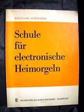 Wolfgang Schneider - Schule für electronische Heimorgeln Keyboard Sikorski
