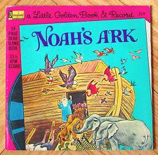 NOAH'S ARK Little Golden Book & Record 33 1/3 RPM vinyl 219 L1