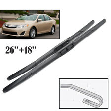 Pair of Windscreen Wiper Blades Front Window Fit For TOYOTA CAMRY XV50 2012-