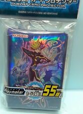 Konami Japan YU-GI-OH! Card Protector  Sleeve Playmaker 55 pieces 63mm x 90mm