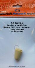 Quickboost 1/48 Junkers Ju88G-6 Radar FUG 240 Berlin Long Versio
