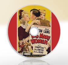Too Many Women (1942) DVD Classic Romantic Comedy Movie / Film Neil Hamilton