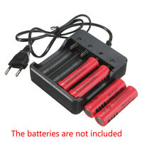 Best Eu Plug 4X Slots Battery Charger With Protection 18650 Lithium-Ion Batt TPD