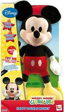 Disney - Mickey Mouse Clubhouse - Happy Sounds Mickey ** GREAT GIFT **
