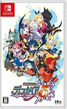 New Nintendo Switch Makai Senki Disgaea 5 JAPAN IMPORT OFFICIAL FREE SHIPPING