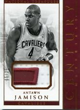2017-18 PANINI NATIONAL TREASURES CENTURY JERSEY PATCH #/25 ANTAWN JAMISON