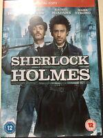 ROBERT DOWNEY JR JUDE LAW Sherlock Holmes ~2009 Azione ADVENTURE UK DVD