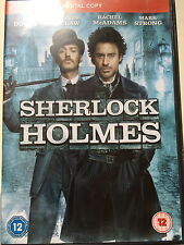 ROBERT DOWNEY JR JUDE LAW Sherlock Holmes ~2009 Azione ADVENTURE UK DVD