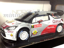 NOREV 181558 CITROEN DS3 #7 WRC RALLY PORTUGAL 2012 AL-ATTIYAH 1/18 WHITE