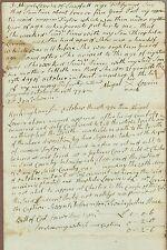 Early American Manuscript Document, Rockingham, New Hampshire, 1794
