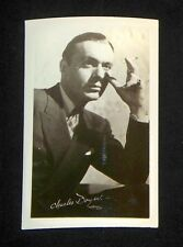 Charles Boyer 1940's 1950's Actor's Penny Arcade Photo Card
