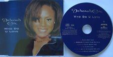 Deborah Cox __ who do U Love __ MCD [6 Track]