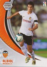 N°292 RAUL ALBIOL TORTAJADA # VALENCIA.CF CARD PANINI MEGA CRACKS LIGA 2008
