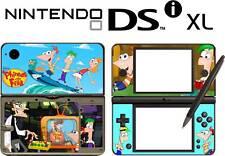 Nintendo DSi XL PHINEAS AND FERB Vinyl Skin Sticker
