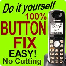 Panasonic Cordless Phone Keypad Button Fix KX-TGA651B KX-TGA652B KX-TG6511 6533