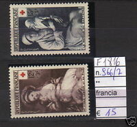 FRANCOBOLLI FRANCIA NUOVI** N°966/67 (F1876)