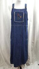 Original TY Wear Ladies Jean Jumper Floral Dress Size 12P