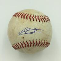 Vladimir Guerrero Jr. Rookie Signed Game Used Minor League Baseball JSA COA