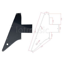 Pickguard Pick Guard For Electric Guitar Explorer 76 Reissue 3 Ply Black