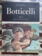 45989 Classici dell'Arte Rizzoli - Botticelli - Gabriele Mandel - 1967