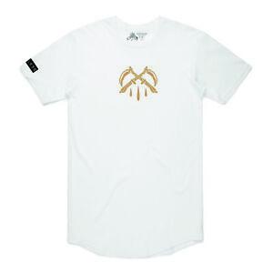 Hourless Baseball Tee (T-Shirt) Mens S M L XL XXL WHITE Tattoo Afends Vans RVCA