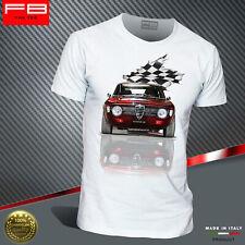 T-shirt Uomo Alfa Romeo GT Junior 1300 Legend Alfa Scalino Rally History FB TEE