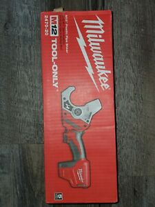 Milwaukee 2470-20 M12 12-Volt Plastic Pipe Shear - Bare Tool