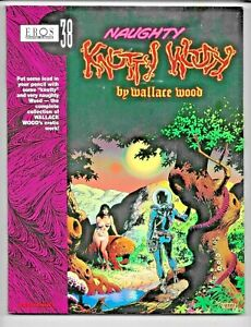 Naughty Knotty Woody Wallace Wood 1998 Eros #38 Heavy Metal Art FN/VF 1560973196