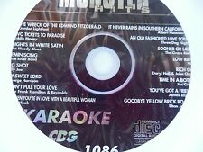 KARAOKE MONSTER HITS CD+G CLASSIC POP HITS #1086