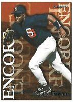 TONY GWYNN 1997 Fleer San Diego Padres Baseball Card #702