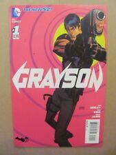 Grayson #1 DC Comics NEW 52 Nightwing 2014 Series 9.4 Near Mint+