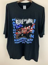 2004 National Farm Machinery Show Release the Animal T-Shirt Black XL