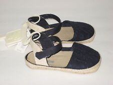 New babyGAP Size 3-6 Months Navy Blue Espadrille Shoes