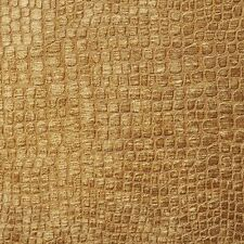 A0151N Copper Textured Alligator Woven Velvet Upholstery Fabric By The Yard
