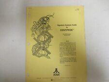 Atari Centipede - Signature Analysis Guide - Original