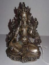 Antique Tibetan Silver Buddha