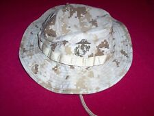 USMC US Marine Corps Desert Digital Camo Boonie Hat MEDIUM