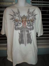 DIABLO III 3 BLIZZARD T-Shirt WHITE Gaming SZ: 2XL - TEE - SOCALSHIRTS619
